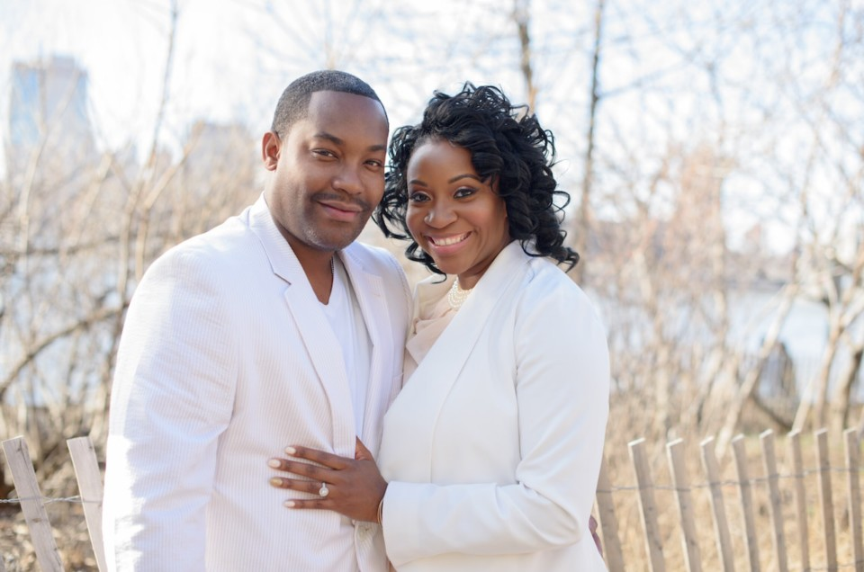 J'nelle + Tyrece :: Brooklyn, N.Y. :: Engagement Session