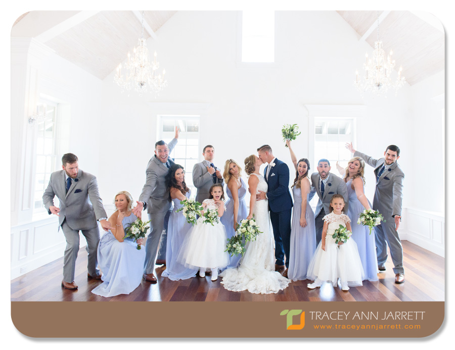 St. Augustine fun bridal party photos the white room