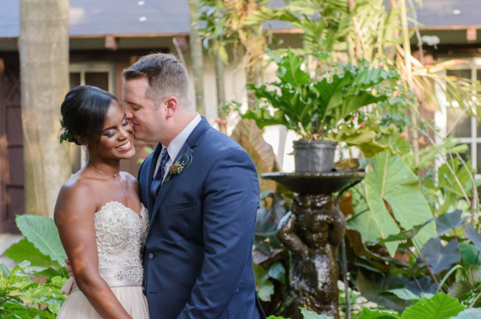 Ashley & Aaron's Tropical Chic Wedding at the Walton House